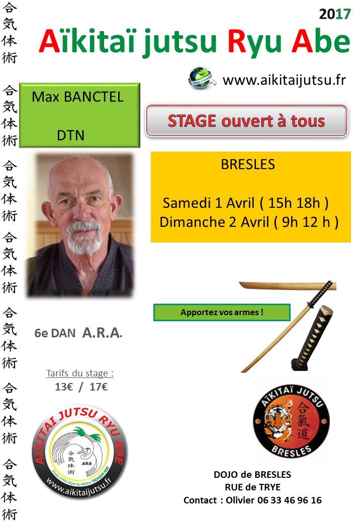 Stage de Bresles avec Max Banctel