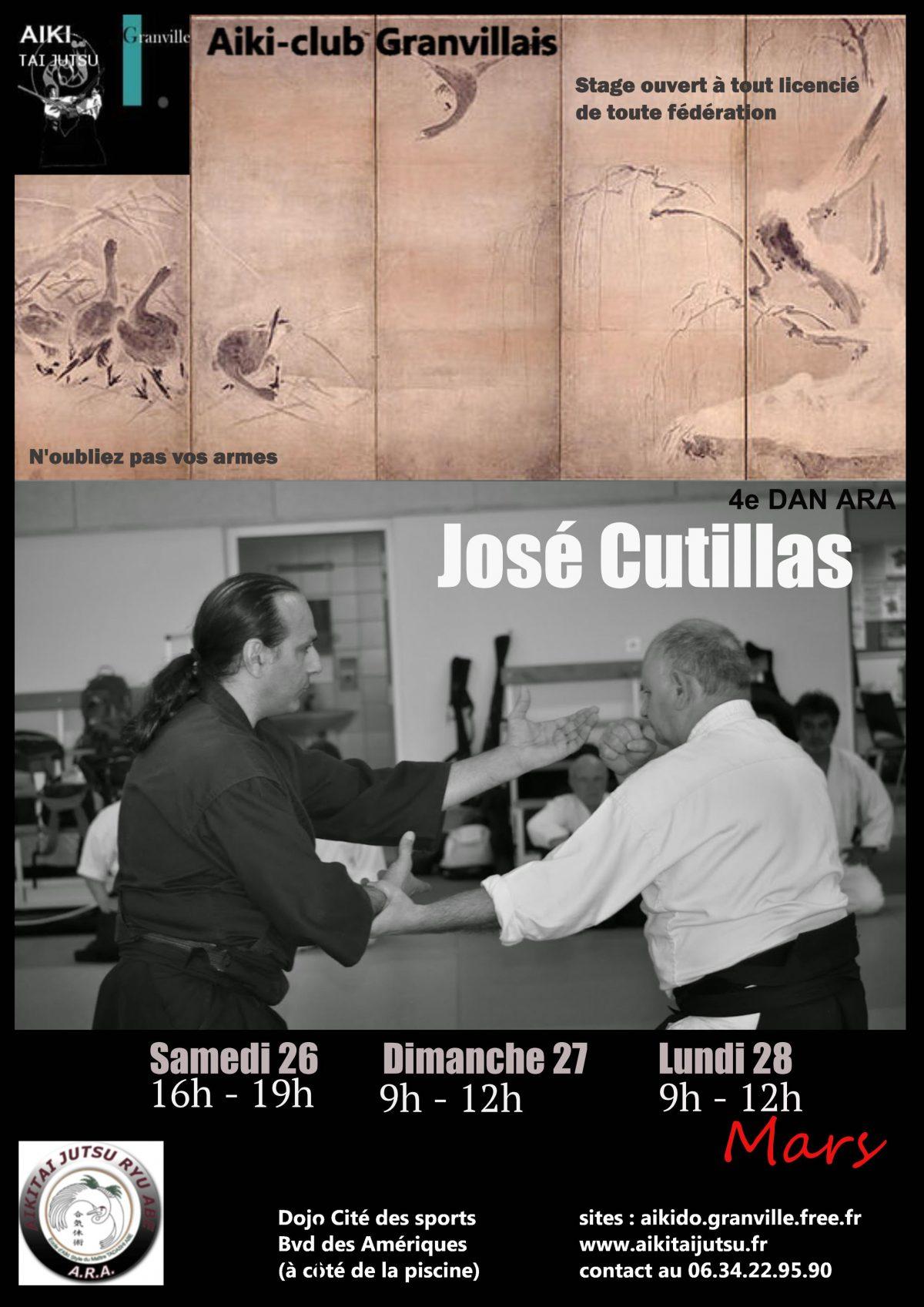 Stage avec José Cutillas